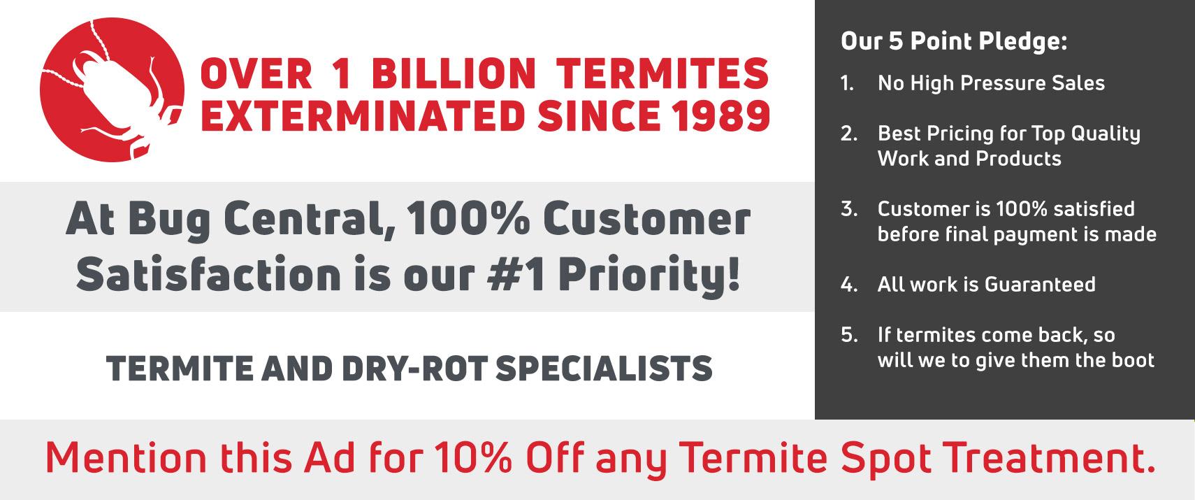 Orange County termite control service